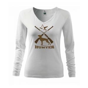 Hunter - stavač a kačice - Tričko dámske Elegance