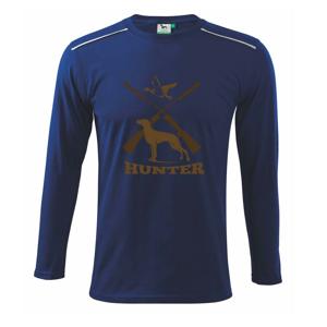 Hunter - stavač a kačice - Tričko s dlhým rukávom Long Sleeve