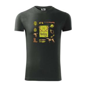 Hunting - ikony - Viper FIT pánske tričko