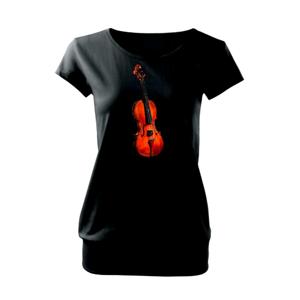 Husle na výšku - Voľné tričko city
