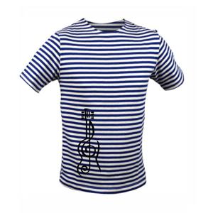 Husľový kľúč gitara - Unisex tričko na vodu