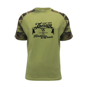 I don't need therapy handlebars in my hands - Raglan Military