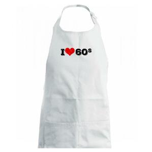 I love 60s - Detská zástera na varenie