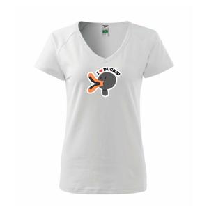 I love ducks - kreslený - Tričko dámske Dream