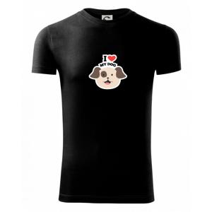 I love my dogs - kreslený - Viper FIT pánske tričko