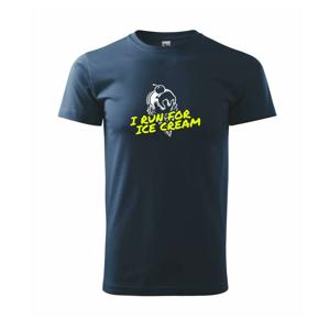 I Run for Ice Cream - Tričko Basic Extra veľké