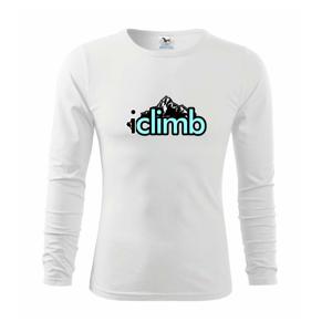 Iclimb - Tričko detské Long Sleeve