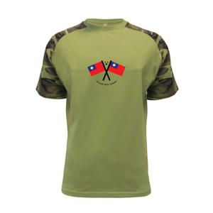In love with Taiwan - vlajky - Raglan Military