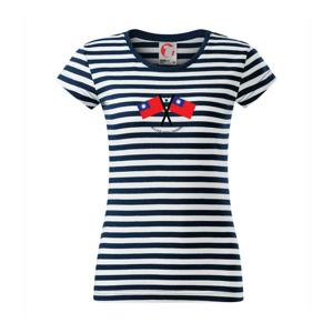 In love with Taiwan - vlajky - Sailor dámske tričko