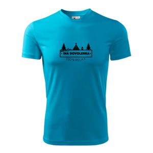 Ina dovolenka stan - Pánske tričko Fantasy športové
