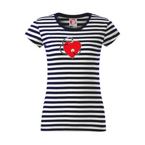 Internista srdce - Sailor dámske tričko