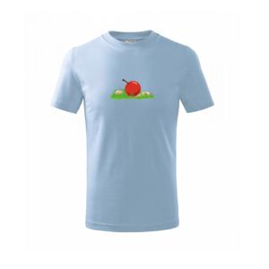Jablko nepadá ďaleko od stromu - Tričko detské basic