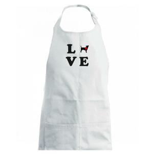 Jack russel terier love - Zástěra na vaření