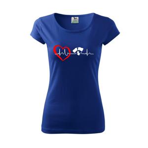 Jack Russell Teriér hrubosrstý Ekg - Pure dámske tričko