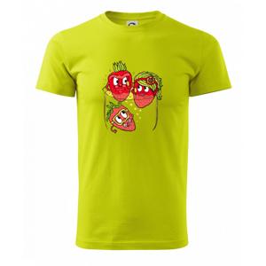 Jahody v šampaňském (Pecka design) - Heavy new - tričko pánske