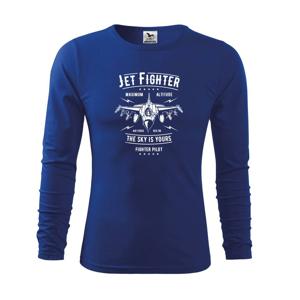 Jet Fighter - Tričko detské Long Sleeve