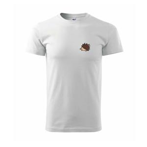 Ježko na prsníku - Tričko Basic Extra veľké