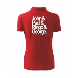 John Paul Ringo George - Polokošeľa dámska Pique Polo