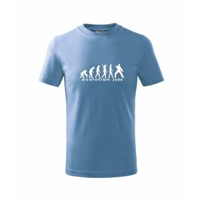 Judo Evolúcia - úder - Tričko detské basic