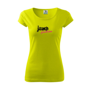 Jump fashion písacie - Pure dámske tričko