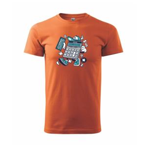 Kalkulátor - Heavy new - tričko pánske
