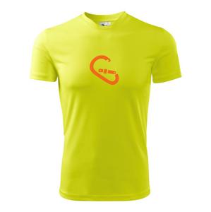 Karabína - Pánske tričko Fantasy športové