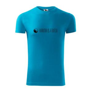 Karma nápis dlhý - Viper FIT pánske tričko