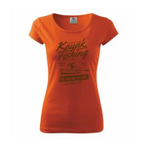Kayak Fishing - Pure dámske tričko
