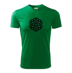 Keltský ornament - Pánske tričko Fantasy športové