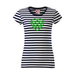 Keltský uzol srdce - Sailor dámske tričko