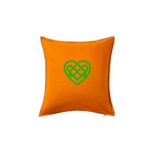 Keltský uzol srdce - Vankúš 50x50