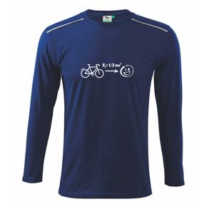 Kinetická energia kolo - Tričko s dlhým rukávom Long Sleeve