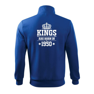 Kings are born in 1950 - Mikina bez kapucne Adventure