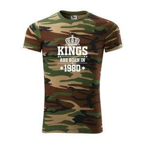 Kings are born in 1980 - Army CAMOUFLAGE