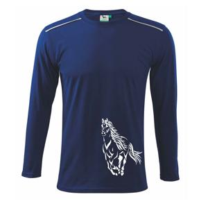 Kôň bežiaci  - Tričko s dlhým rukávom Long Sleeve