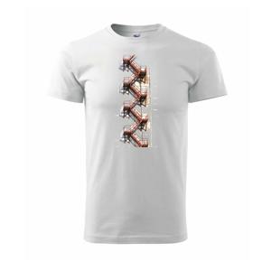 Kovové schody - Tričko Basic Extra veľké