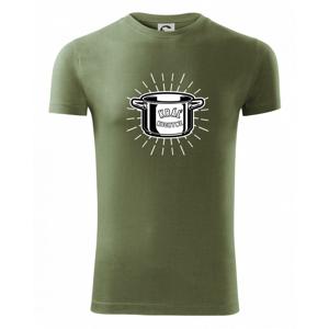 Kráľ kuchyne - hrniec - Viper FIT pánske tričko