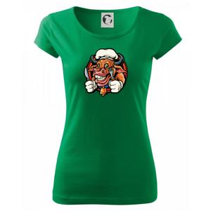 Krava na gril - Pure dámske tričko
