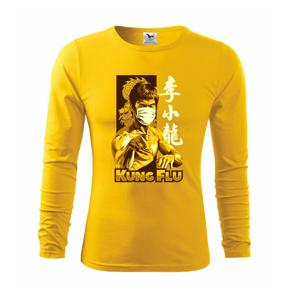 KUNG FLU - Tričko s dlhým rukávom FIT-T long sleeve