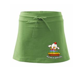 Kuracie paličky - Športová sukne - two in one