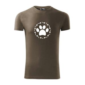 Labka lopta kosť pes - Viper FIT pánske tričko