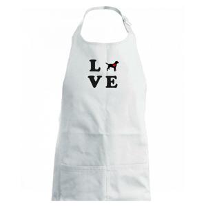Labrador love - Detská zástera na varenie