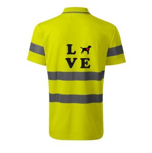 Labrador love - HV Runway 2V9 - Reflexné polokošeľa