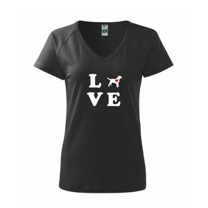 Labrador love - Tričko dámske Dream