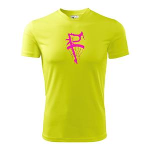 Lady bicycle - Detské tričko fantasy športové tričko