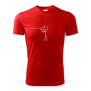 Láska telefón - Pánske tričko Fantasy športové