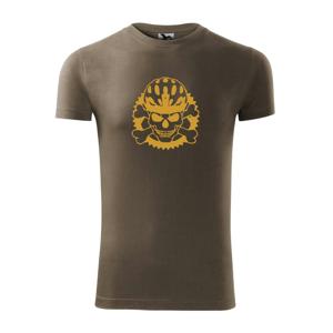 Lebka cyklista - prilba zlatá  - Viper FIT pánske tričko