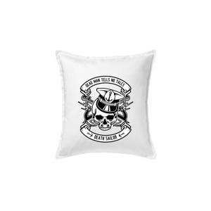 Lebka námorník - Vankúš 50x50
