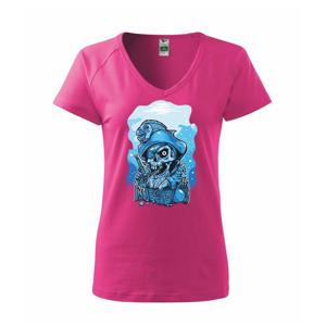 Lebka potápač poklad - Tričko dámske Dream