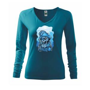 Lebka potápač poklad - Tričko dámske Elegance